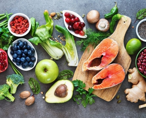 Health foods to eat during radiation