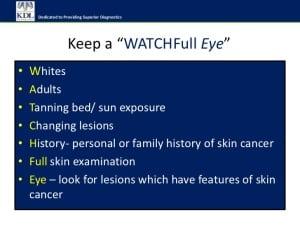 WatchFull Eye - Skin Cancer