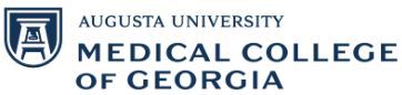 Medical College of Georgia Augusta Logo