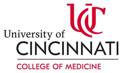 University of Cincinnati College of Medicine logo